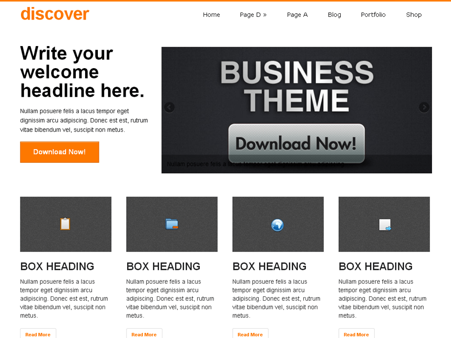 Download Free Discover Wordpress theme | Best Free Wordpress themes