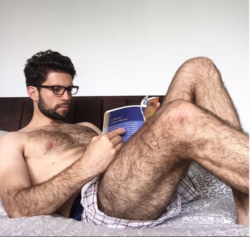Hairy Sexy men legs with