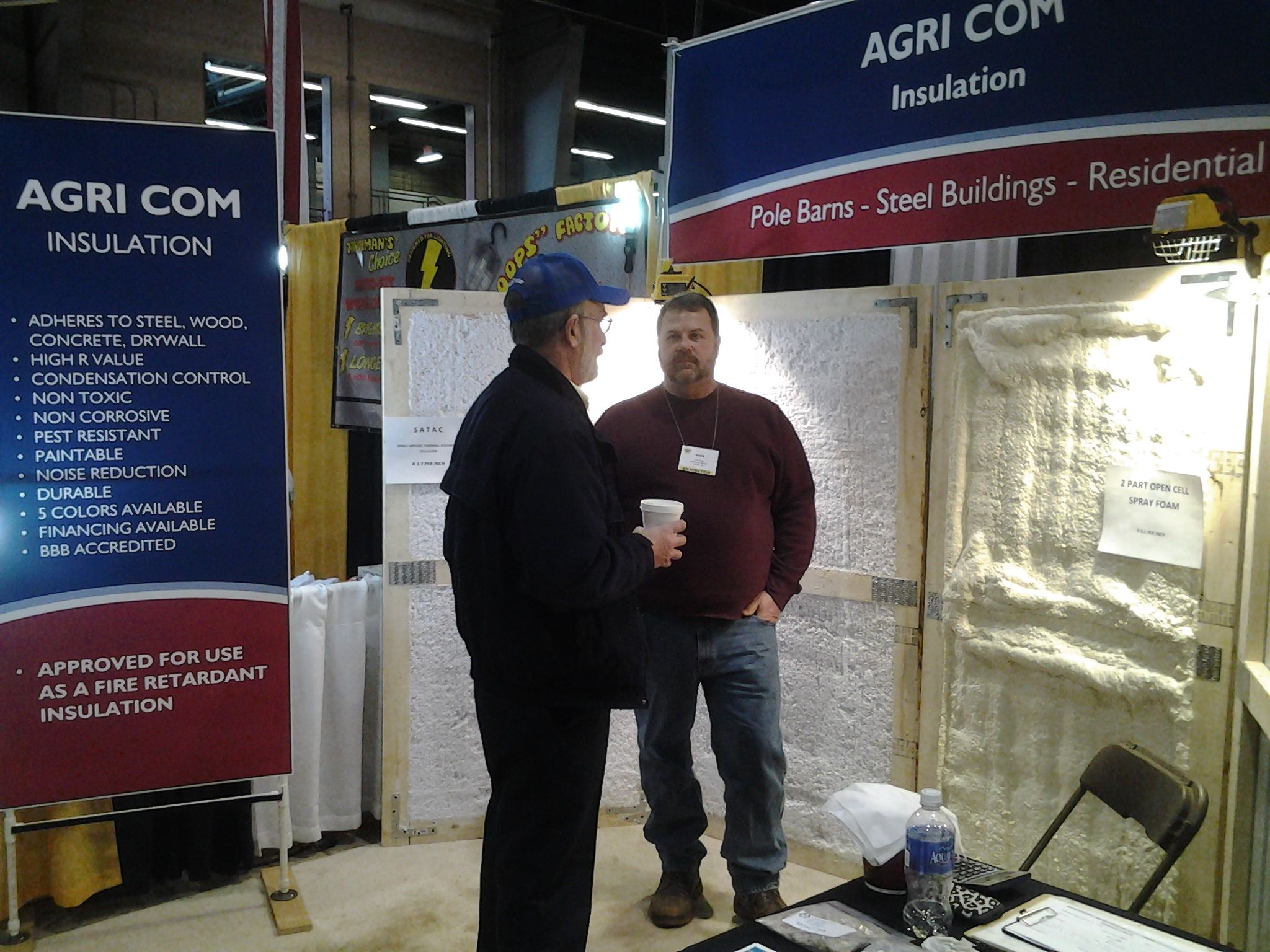 Satac System A Spray Foam Insulation Alternative At The Show Oh In Columbus