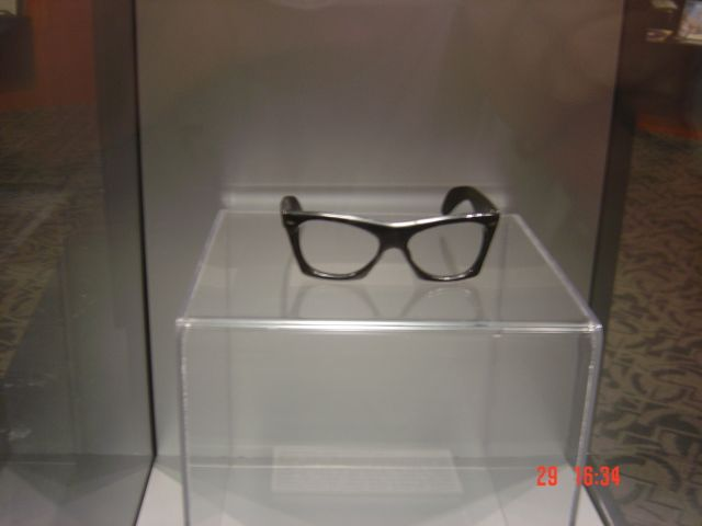 Buddy Holly's last pair of glasses. Buddy Holly Center, Lubbock, Texas.  (They were found at the site of t… | Buddy holly, Rock and roll museum, Buddy  holly musical