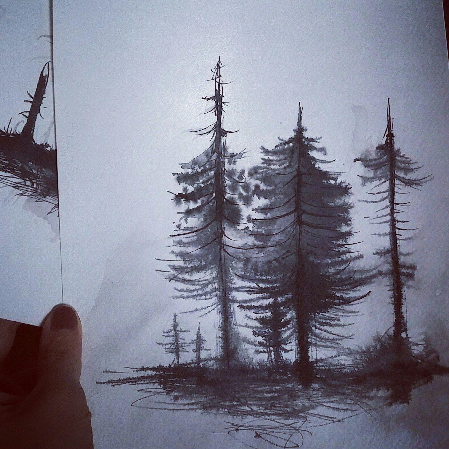 5erg shared a new photo on in 2018 ink art pinterest painting rh pinterest com
