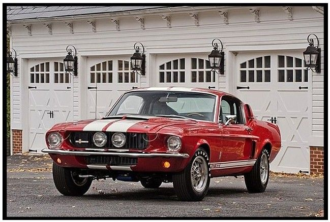 1967 Shelby Gt500 Crossing Mecum Auction January 2014 Mustang