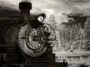 Train Art - 10000 Feet by Mike McMurray