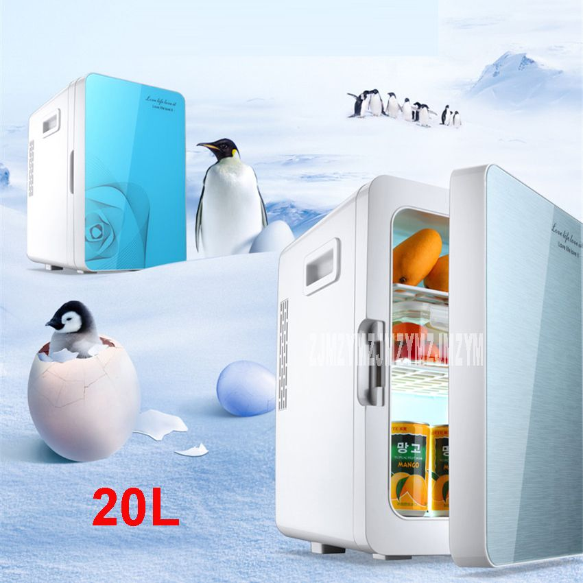 F l18sa portatile freezer 20 l mini frigo frigorifero auto a casa a duplice uso compact car - Temperatura freezer casa ...