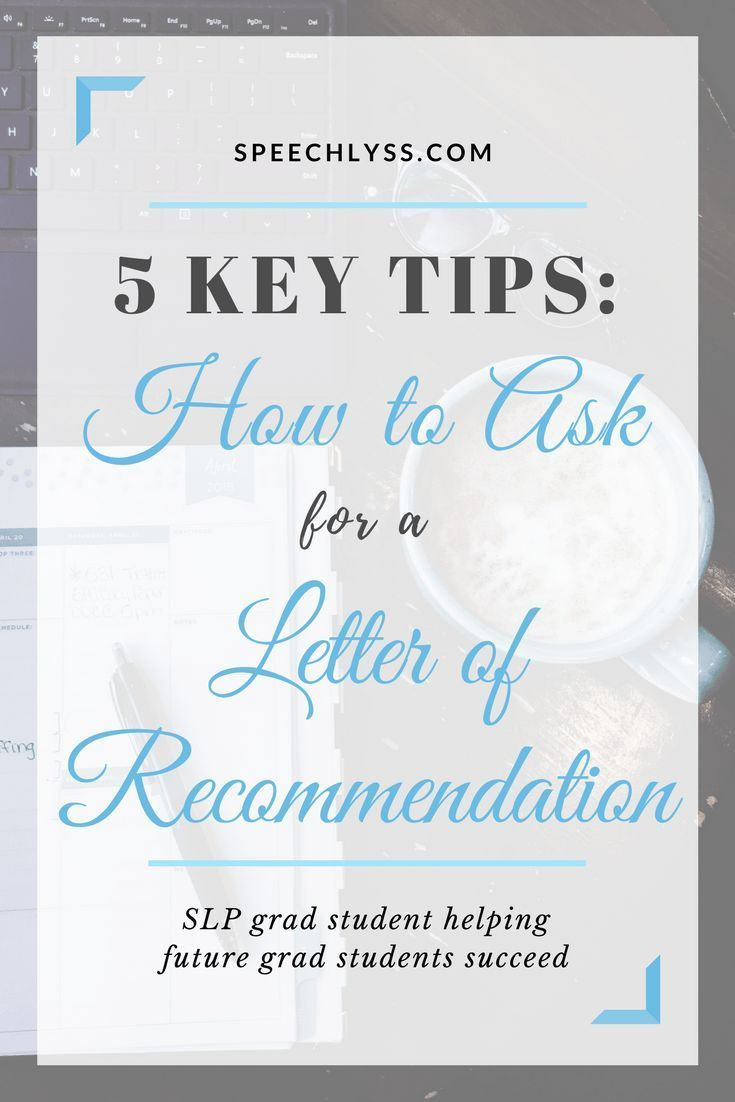 how to ask for a letter of recommendation  with images