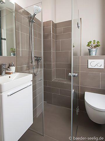 Duschbad Mit Einer Ganzglas Duschabtrennung Planen Kleines Bad Mit Dusche Kleiner Duschraum Wc Mit Dusche