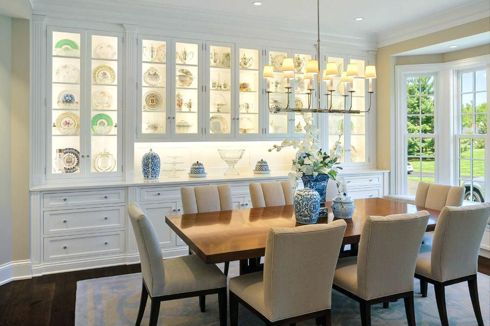 Image Result For Built In China Cabinet Dining Room Dining Room Small Traditional Dining Rooms Dining Room Cabinet