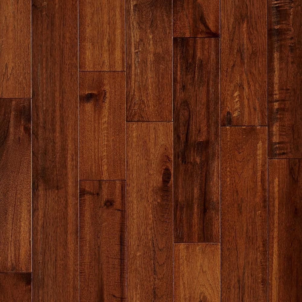 Chestnut Hickory Hand Scraped Solid Hardwood Solid Hardwood