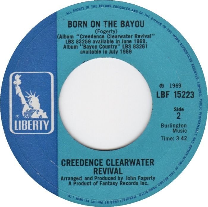 Creedence Clearwater Revival Born On The Bayou Creedence Clearwater Revival Music Memories Clearwater Revival