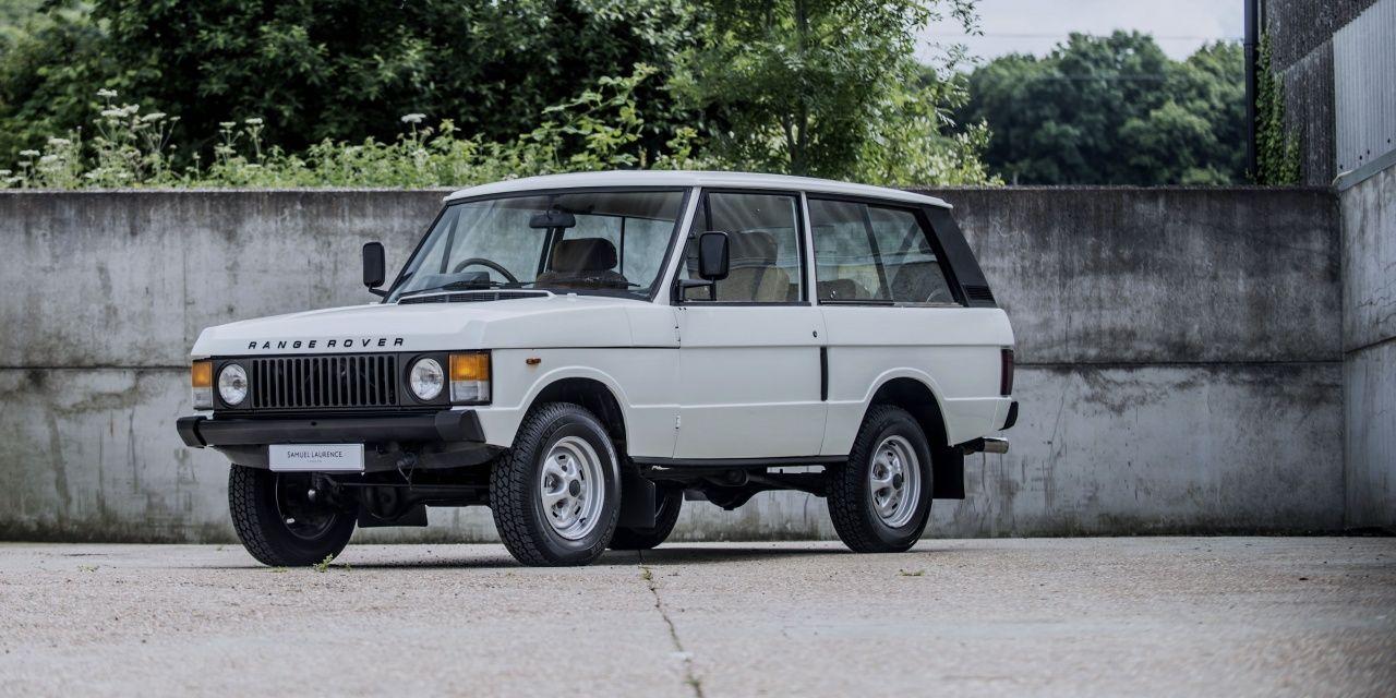 1981 Land Rover Range Rover Range Rover Classic Land Rover Range Rover