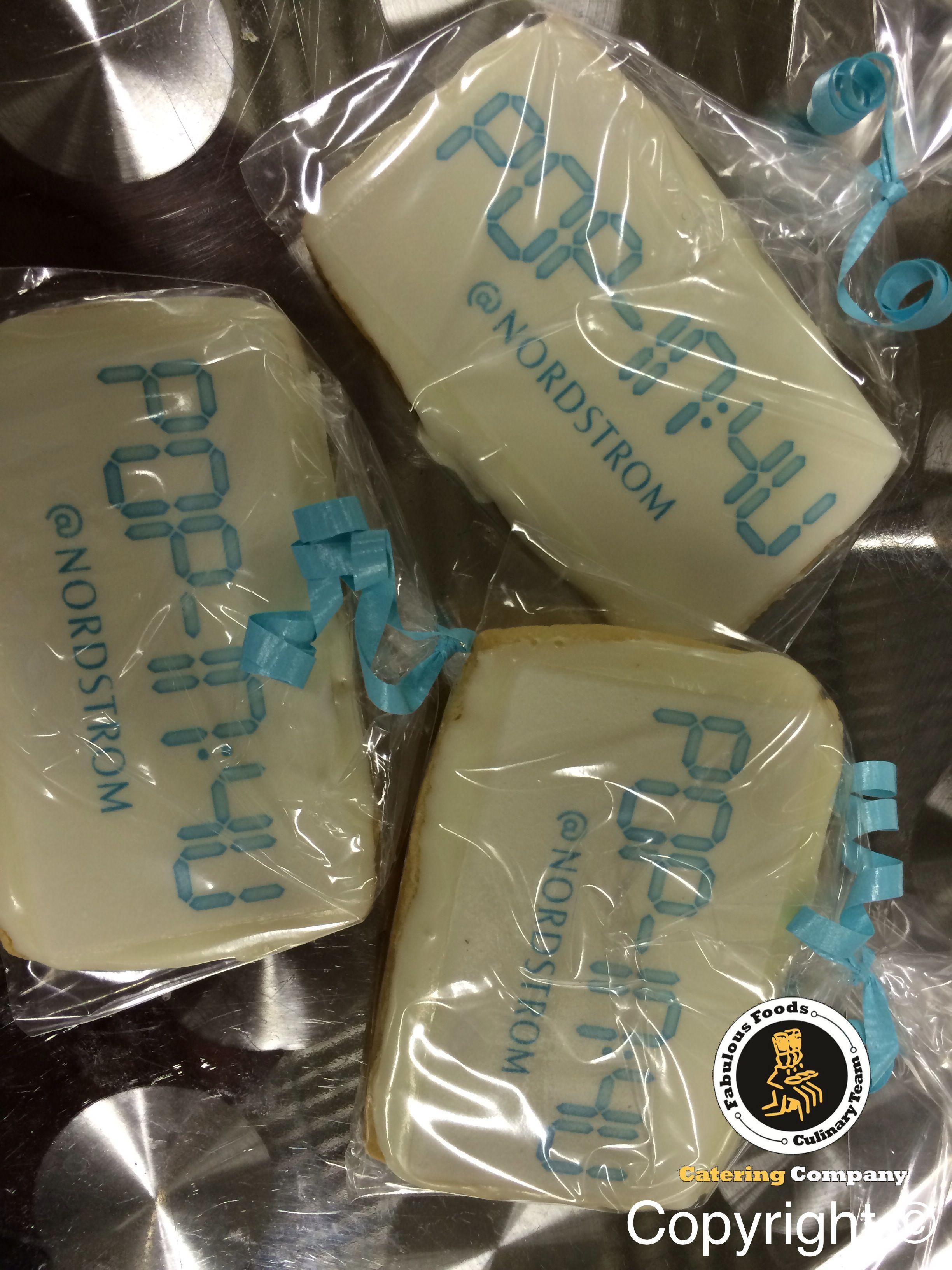 Custom Logo Cookies!