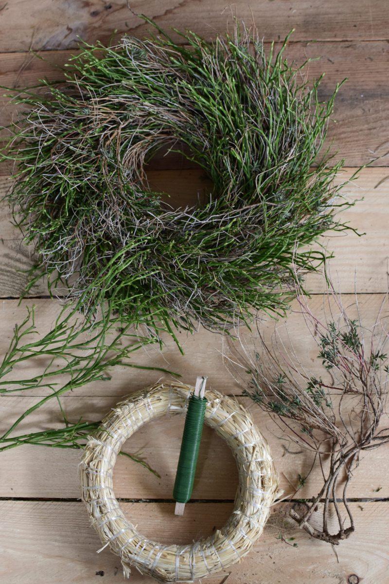 DIY Kreativ Set Greenery Kranz in 2020 | Grüner kranz, Stroh
