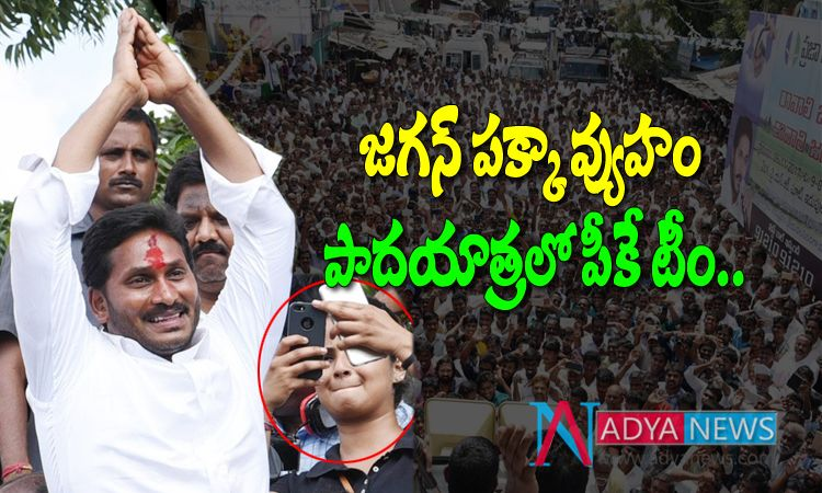 Prashant Kishor Team Secret Survey in YS Jagan Praja