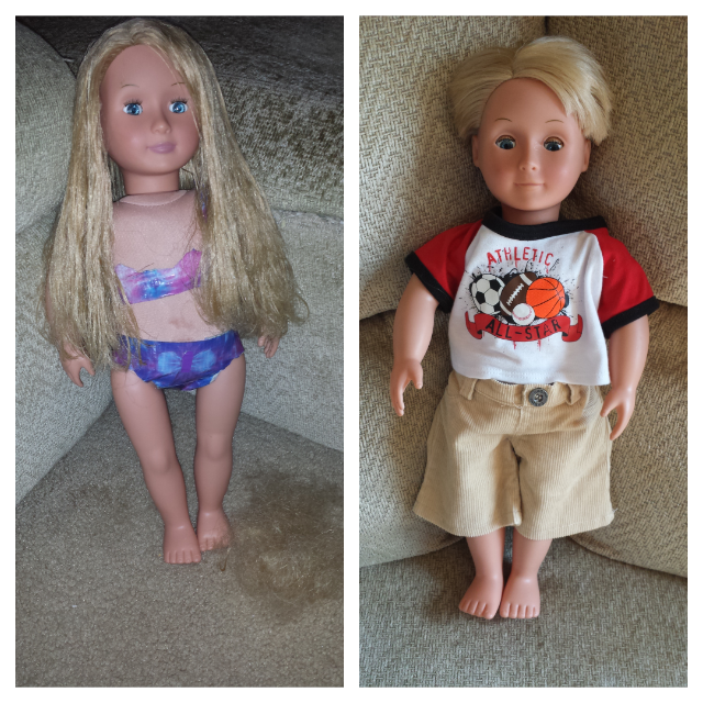 A Slightly Better Wife: DIY: 18 Inch American Girl Knock Off