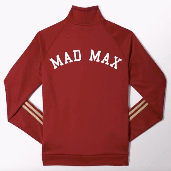 Stranger Things Season 2 Mad Max Maxine Red Track Jacket