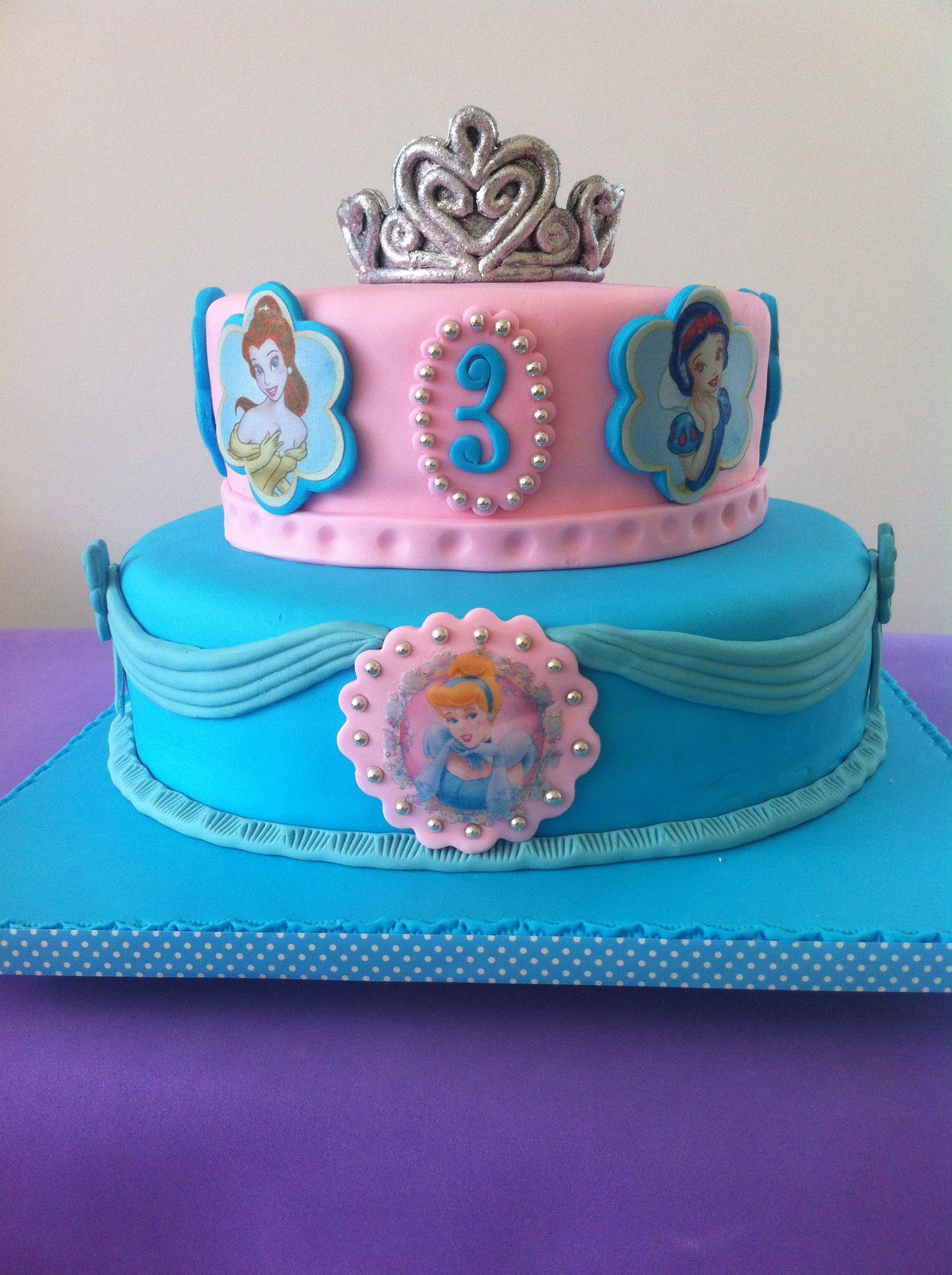 Disney's princess cinderella cakes