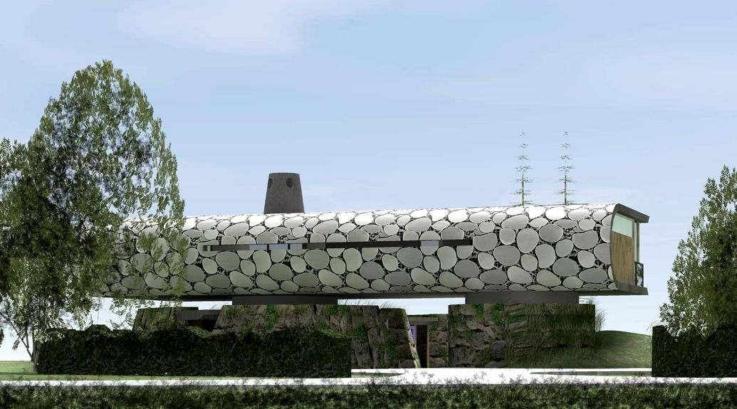 eco house1 curved house Pinterest Eco architecture Design