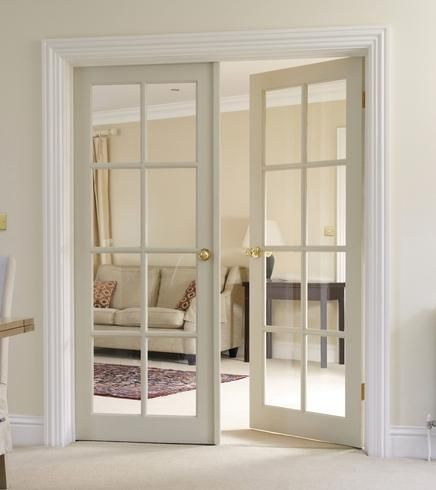 Doors to let in more light from the front of the house for Double glazed internal french doors