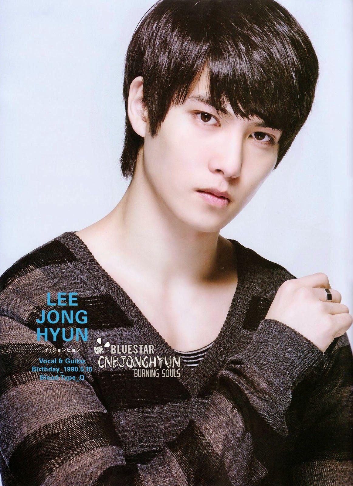 Cnblue Kpop Idols Profiles Lee Jong Hyun Cnblue Jonghyun