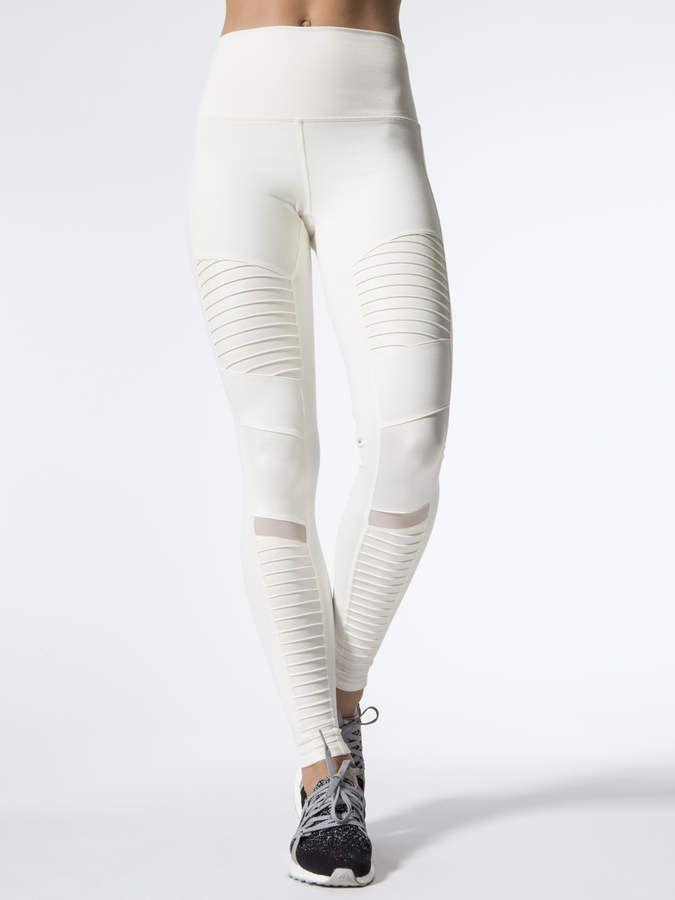 e377195d20a1d9 Alo Yoga High-Waist Moto Legging   Fitness   Style   Leggings, Yoga ...