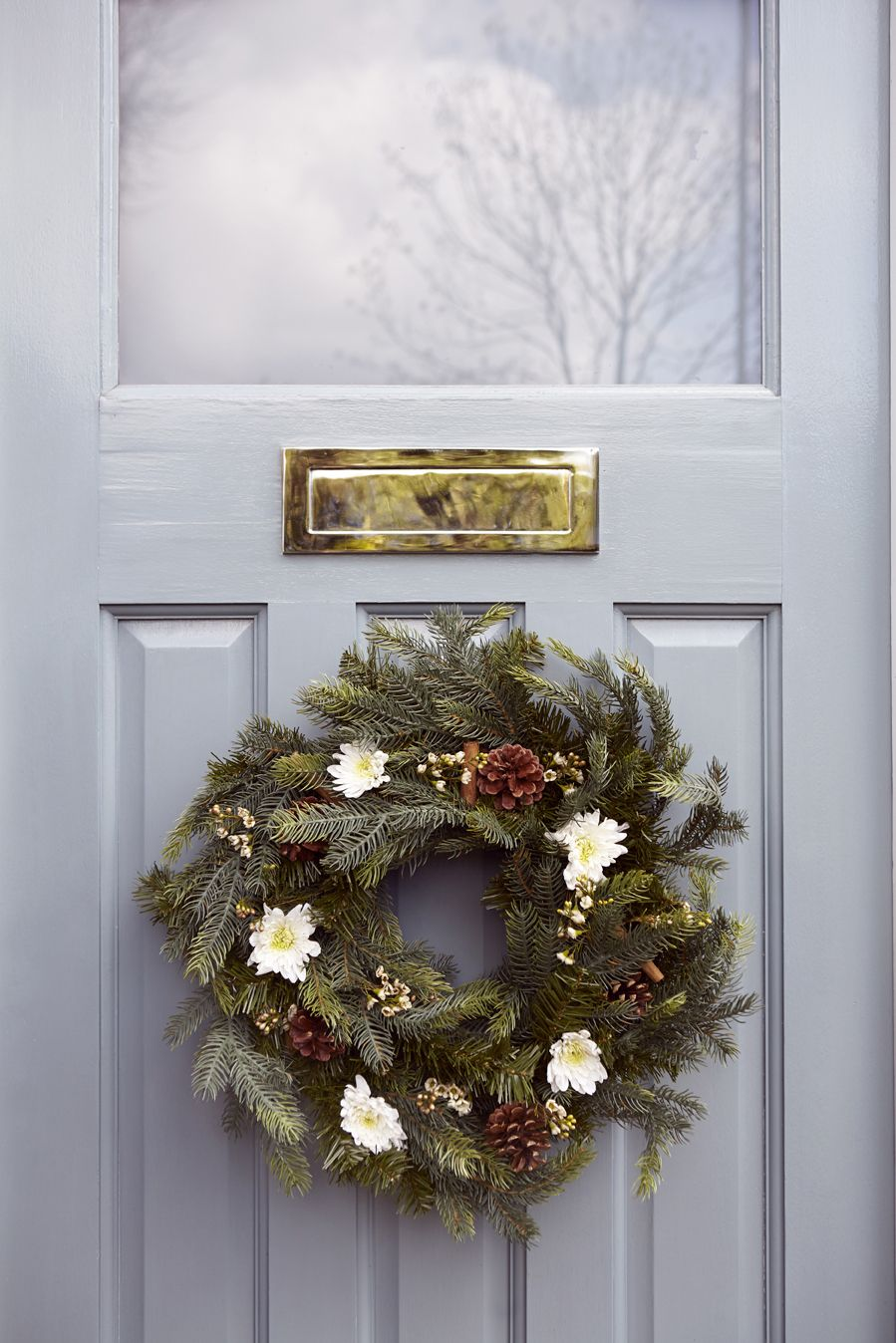 Christmas Want To Hang A Wreath On Your Front Door But Not Sure How To Do It Without Damaging The Do Christmas Wreaths Christmas Decorations Christmas Is Over