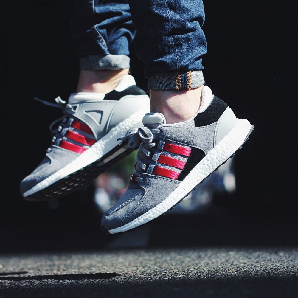 adidas eqt grey and red