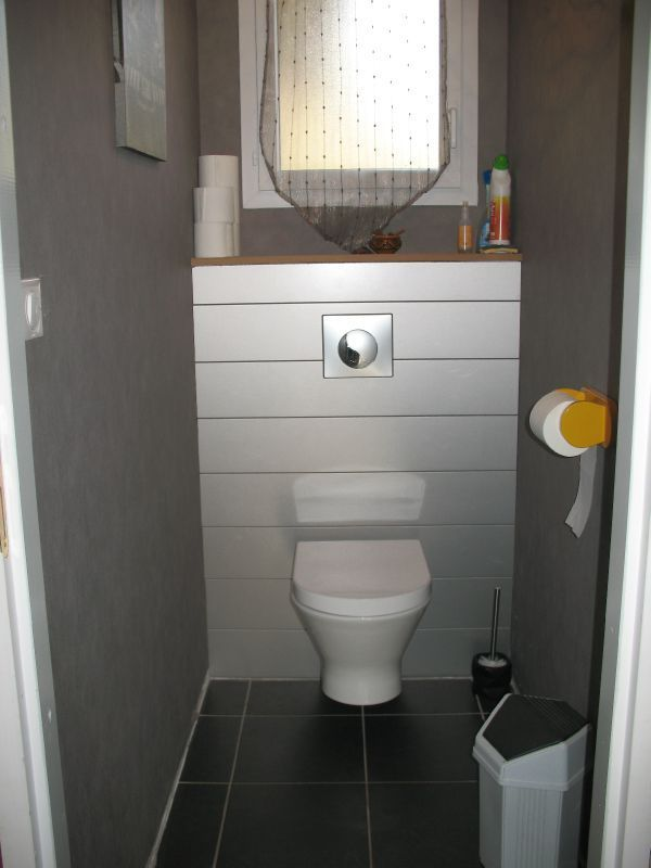 déco wc lambris   туалет   Pinterest