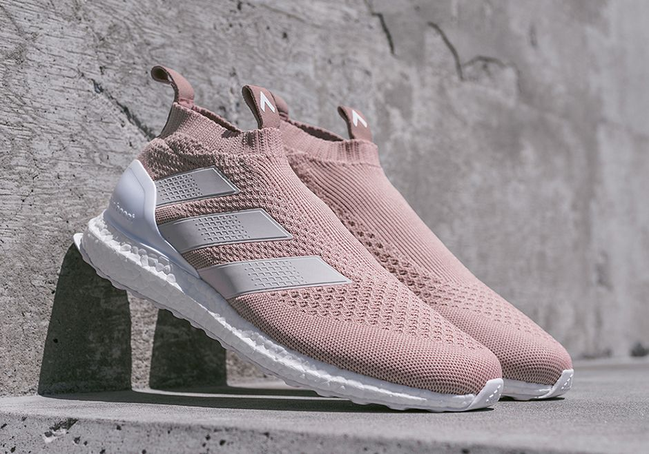 "new arrival f8db8 55a25 Kith x ACE 16+ Pure Control Ultra Boost ""Kith Flamingos"""