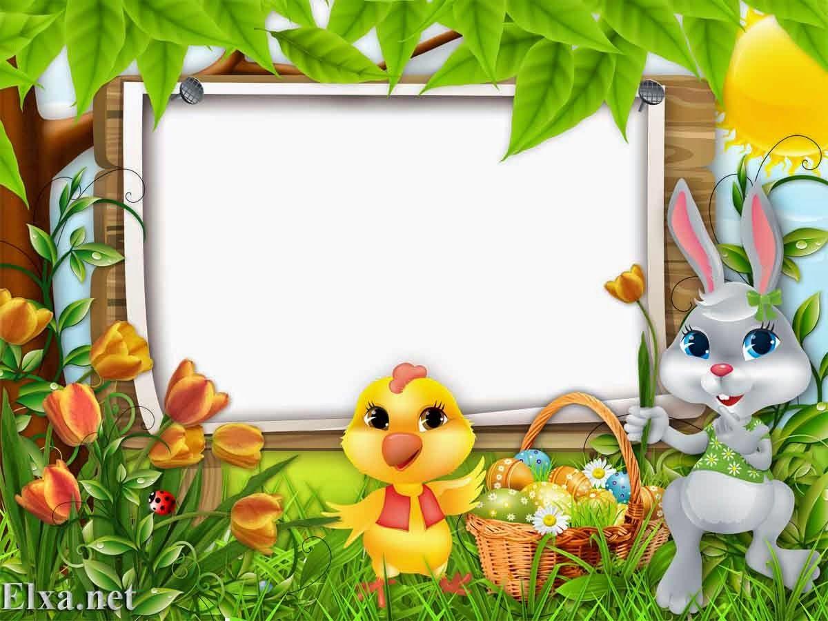 easter frame HD | elxa | Frames | Pinterest | Easter and Clip art