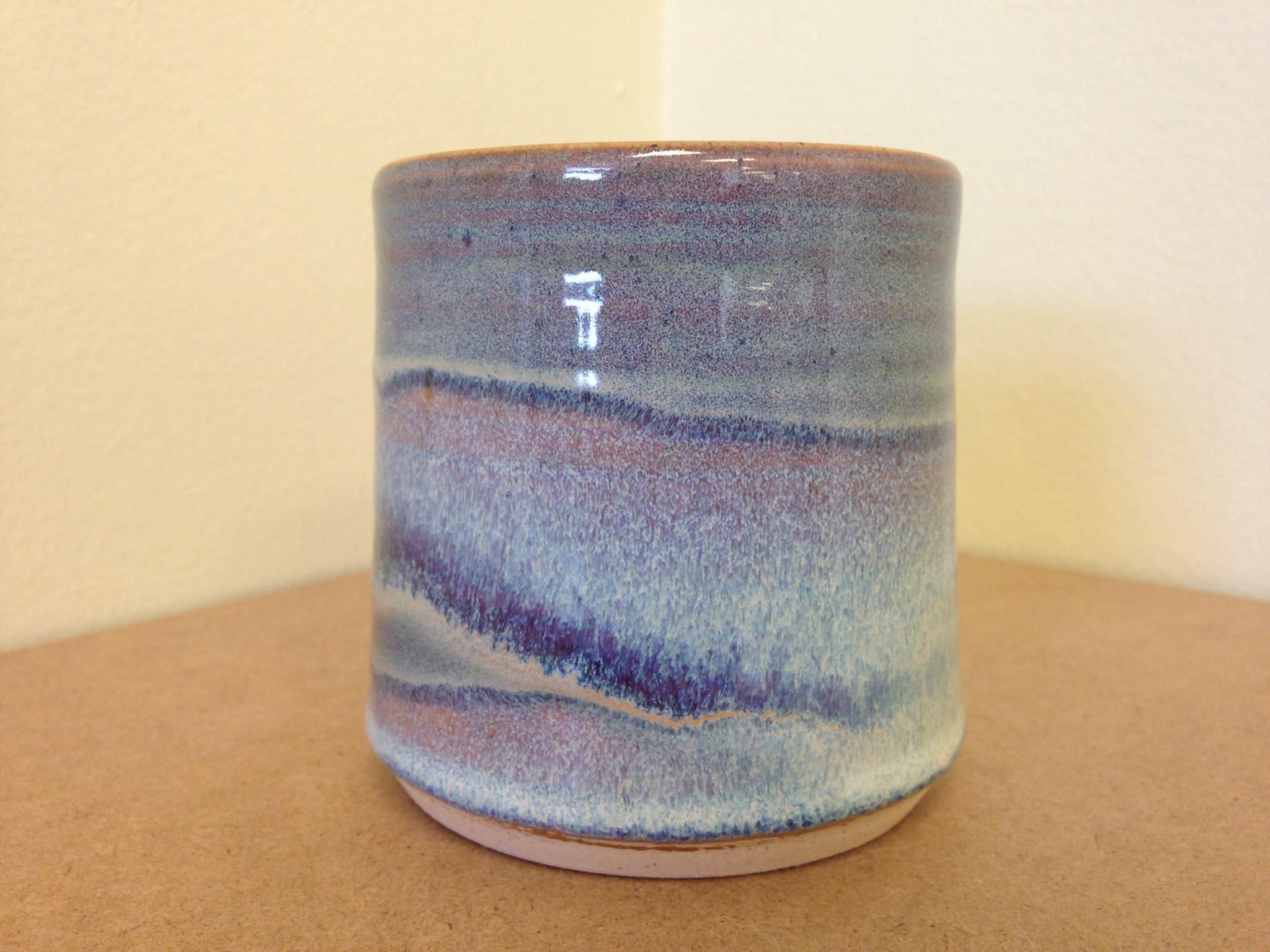 Spectrum Glazes Texture Autumn 1145 With A Couple Splash