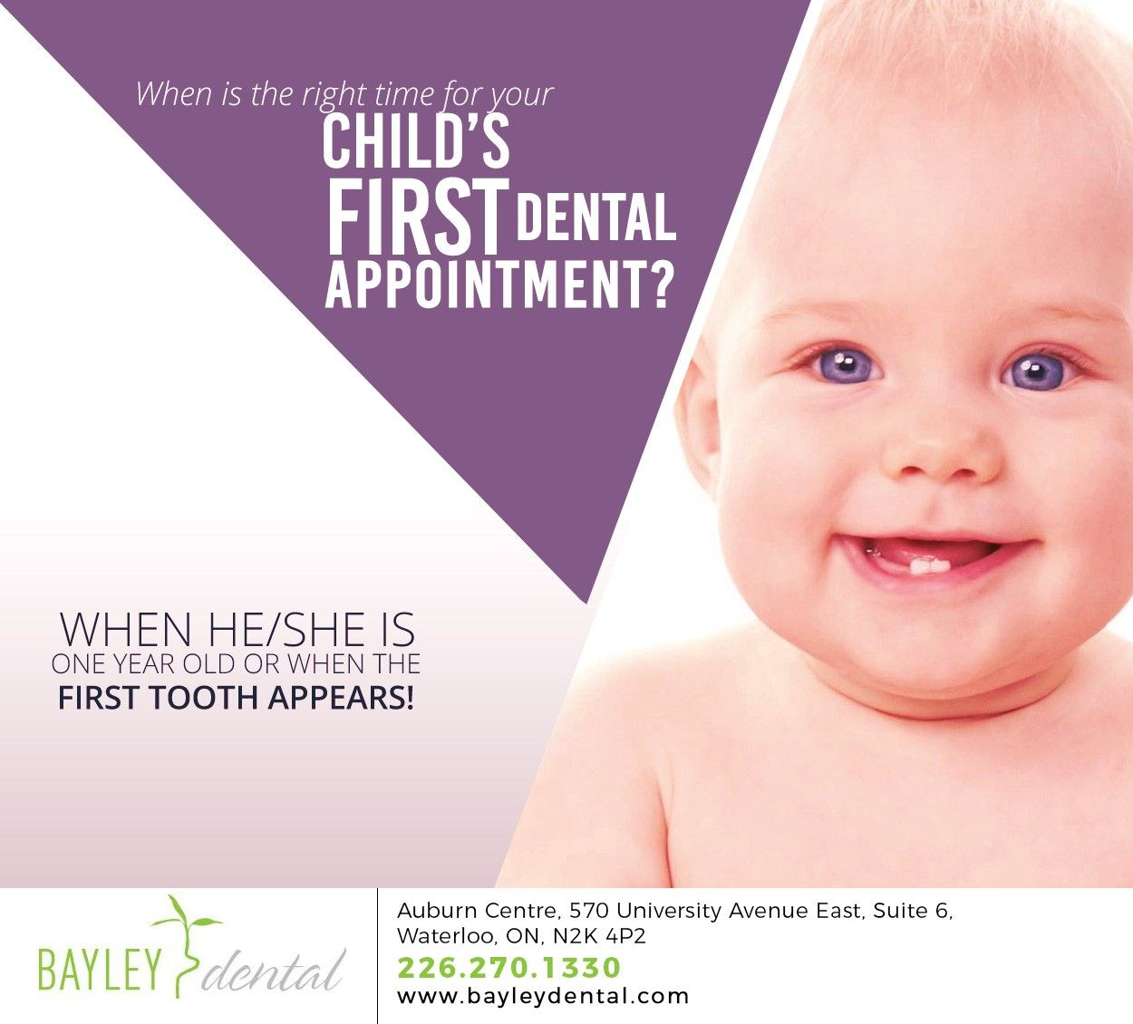 A kid's first dental visit is all about orientation