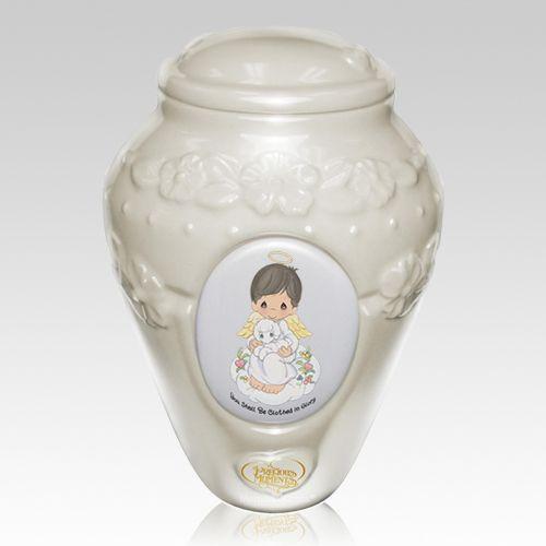 Precious Moments Hispanic Boy Urn Urn Precious Moments Cremation Urns