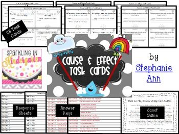 Editable Cause Effect Task Cards Plus Cooperative Learning Activities Task Cards Cooperative Learning Activities Games