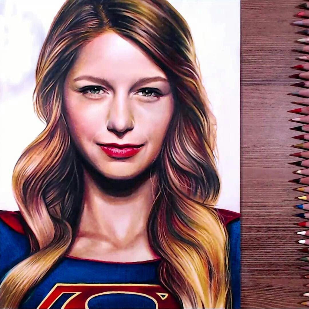 Supergirl Drawholic Make Pencil Drawings Em 2018 Dessin