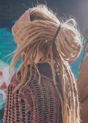 Dread Hairstyles. Dreadlock Beads. Long Dreads! Girl with Dreads ...