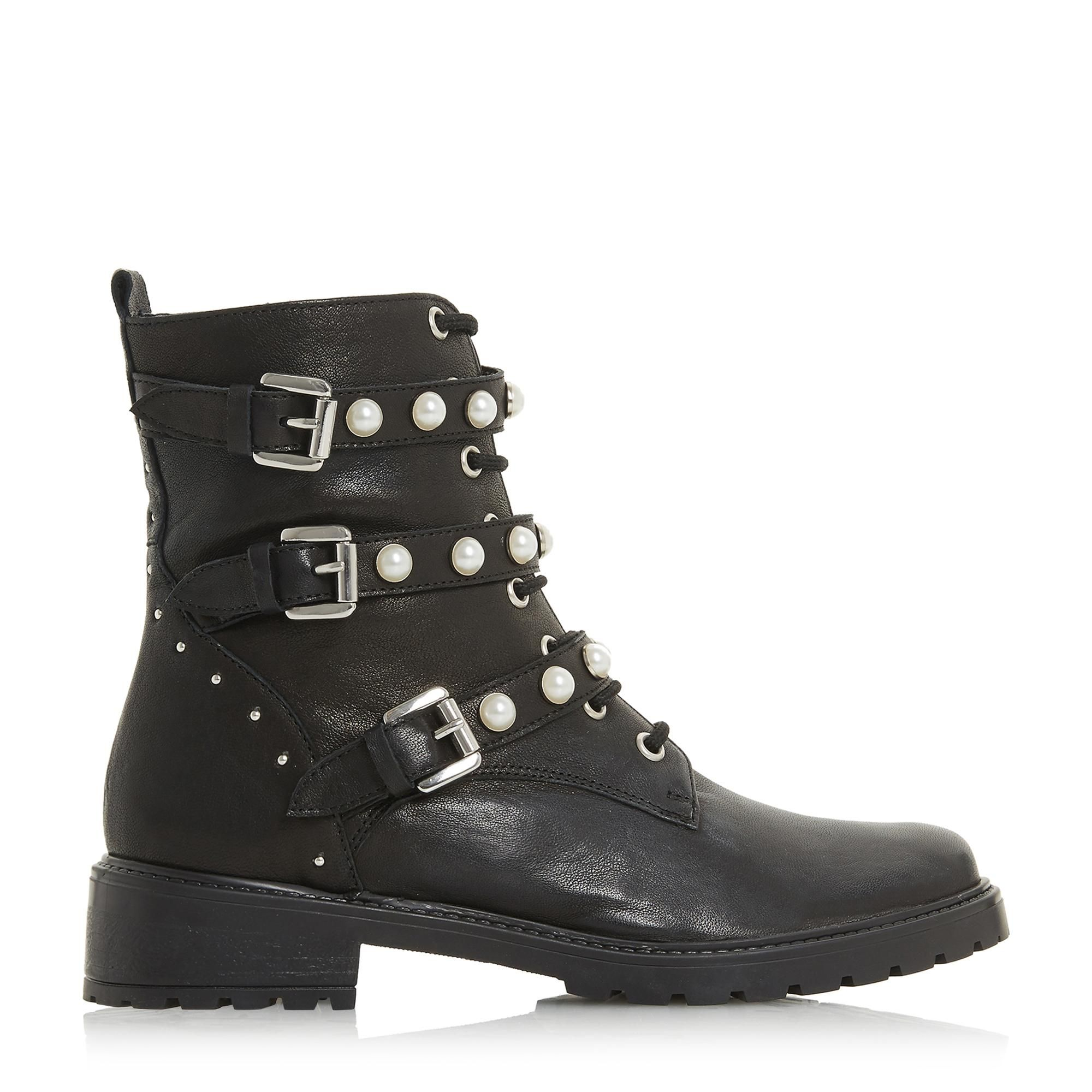 The Risky biker boot by Dune is a