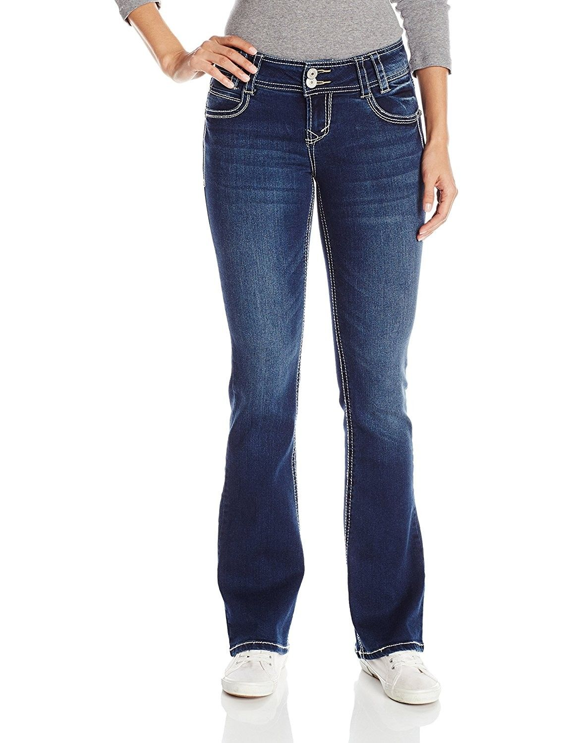 9a2f9e4a52e Women's Clothing, Jeans, WallFlower Women's Juniors Luscious Curvy Bootcut  Jean - Chrystie - CA12GHLG68H #women #fashion #clothing #style #outfits # Jeans ...