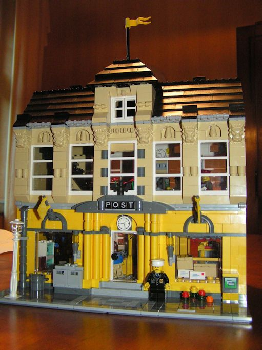 lego office building. Brick Town Talk: Post Office By Holodoc - LEGO Town, Architecture, Building Tips Lego