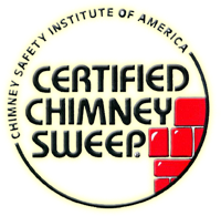 Make sure your chimney sweep is a (CSIA) Chimney Safety Institute of America (CCS) certified chimney sweep and your dryer vent tech. is a (C-DET)certified dryer exhaust technician.