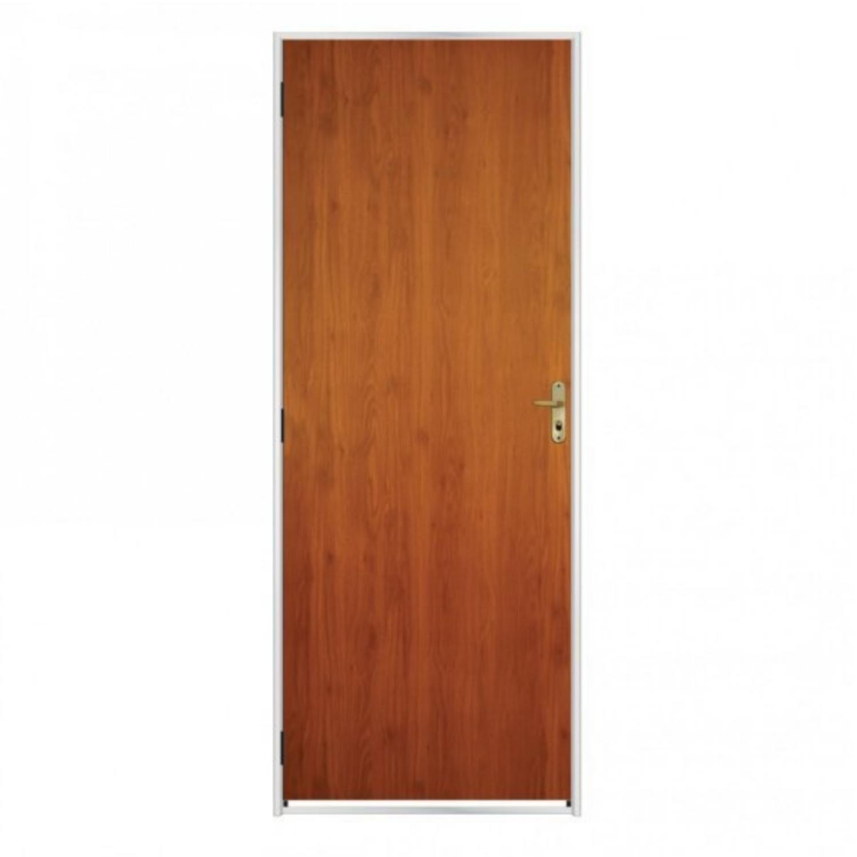 Smooth Wood Door Kit 215cmx75cm Melamine MGM