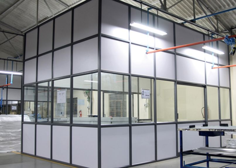 Aluminum Partition Panel For Elevation Areas With Wide Ranges Of