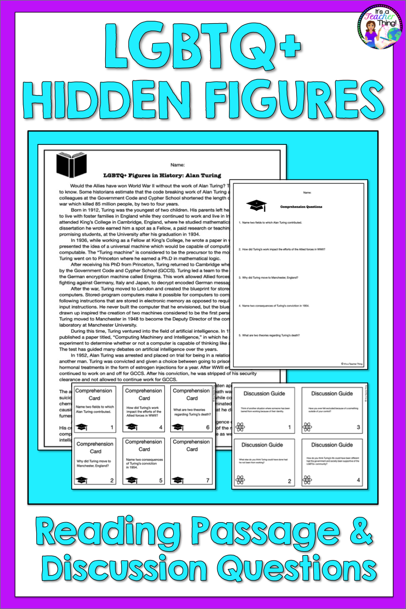 Reading Comprehension Passage And Questions Lgbtq Hidden Histories Comprehension Passage Reading Comprehension Passages Reading Comprehension [ 1256 x 837 Pixel ]