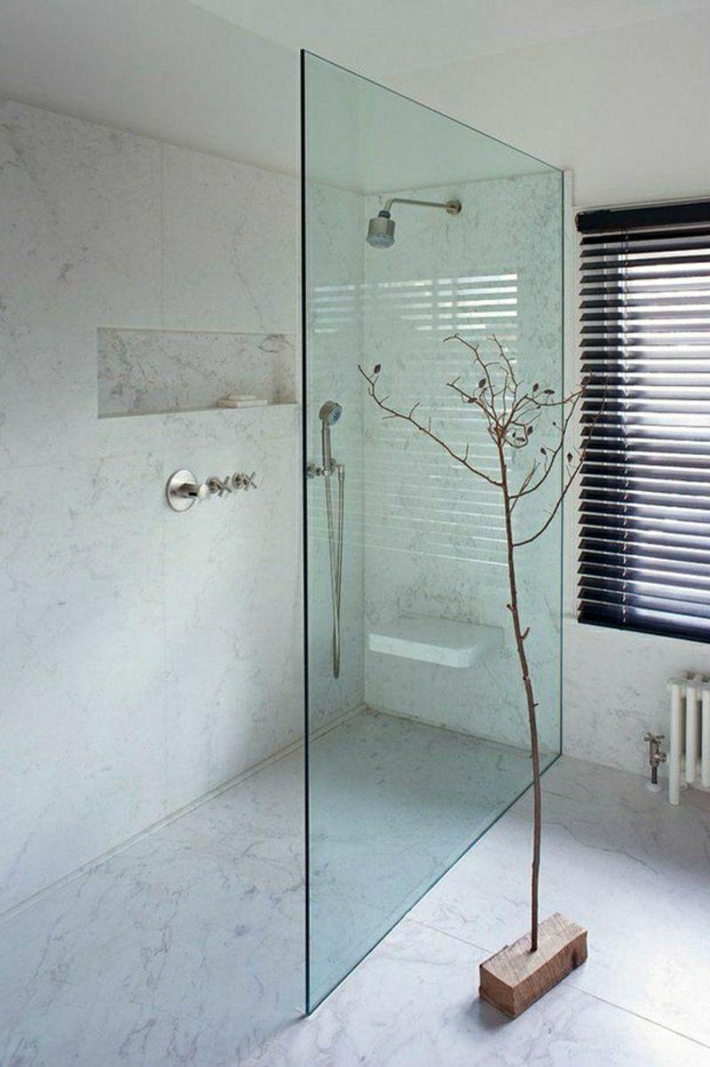Begehbare Dusche – moderne Designs und praktische Vorteile