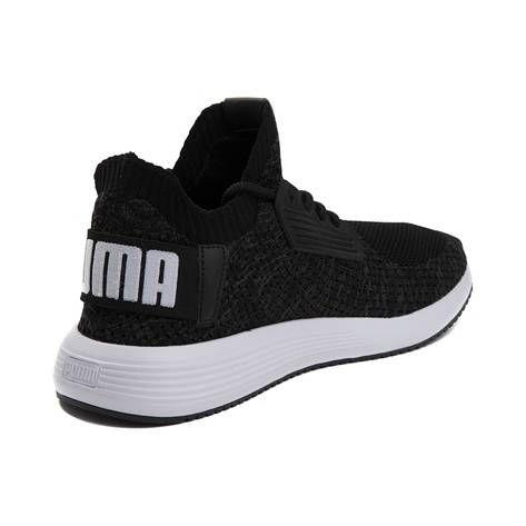 f2f9111c72e6 Womens Puma Uprise Knit Athletic Shoe - black - 361817