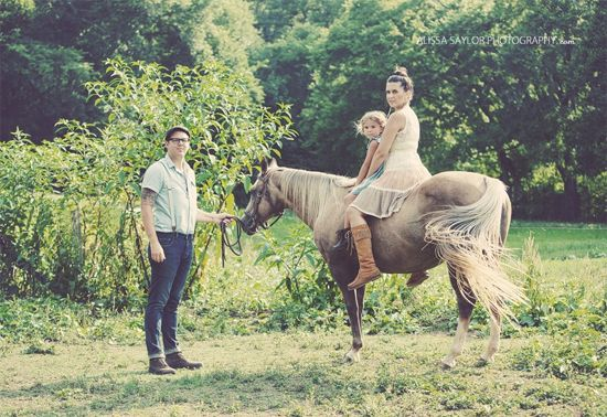Family Portrait Ideas With Horses