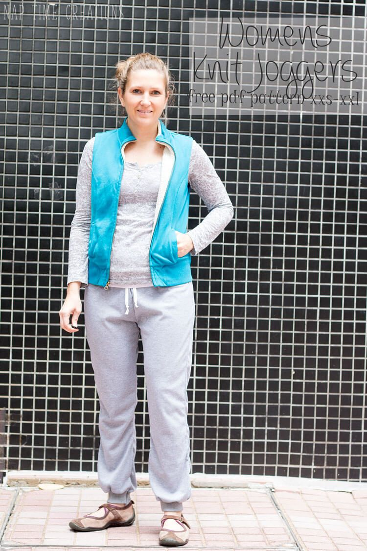 womens jogger pattern free pdf-in-xxs-xxl-from-Nap-Time-Creations ...