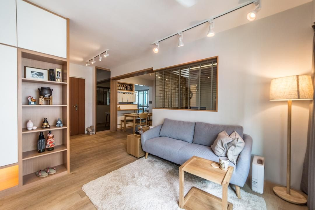 4 Room Hdb Layout Planning Made Easier With These Ideas Here Are 6 Design Solutions Base Interior Design Singapore Interior Design Condominium Interior Design