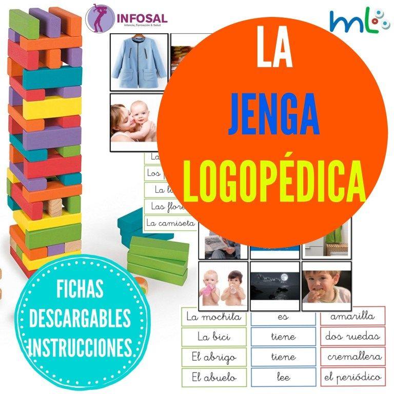 El Juego De La Jenga Logopedica Infosal Actividades De