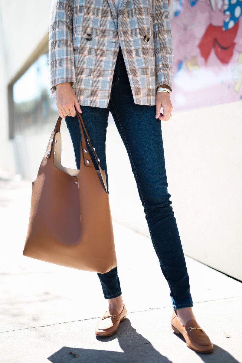 2a0126dec the miller affect with the cognac rory tote from Tory Burch | style