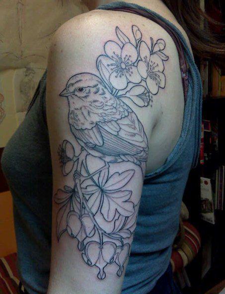 Beautiful Botanical Tattoos By Salem Witch Descendant: Shannon Archuleta: Botanical Tattoo Extraordinaire